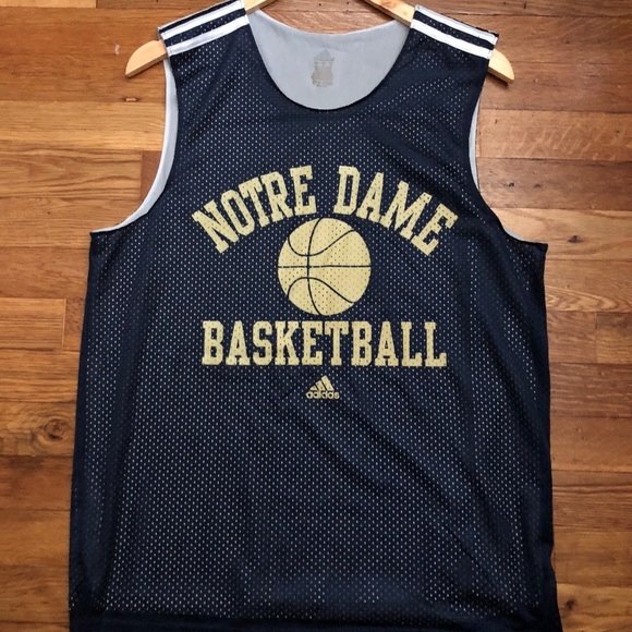 adidas Other - Notre Dame Adidas Mens Practice Basketball Tank a2c137f31